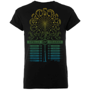 Harry Potter Spells And Charms Men's Black T-Shirt