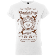 T-Shirt Femme Honeydukes Chocogrenouille - Harry Potter - Blanc