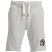 Tokyo Laundry Men's Red Feather Sweat Shorts - Oatgrey Marl
