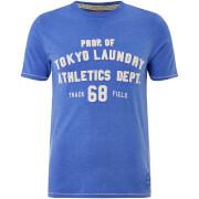 Tokyo Laundry Men's Henryville T-Shirt - Cornflower Blue