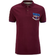 Tokyo Laundry Men's Calgary Point Polo Shirt - Wine Tasting