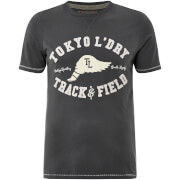 T-Shirt Homme Springfield Tokyo Laundry - Gris Ardoise