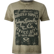 Tokyo Laundry Men's Rochester Springs T-Shirt - Dusty Olive