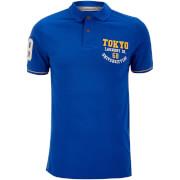 Tokyo Laundry Men's Calgary Point Polo Shirt - Ocean