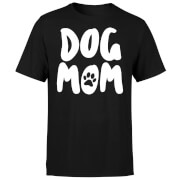 Dog Mom T-Shirt - Black