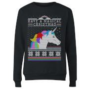 Have a magical Christmas Fair isle Women's Sweatshirt - Black