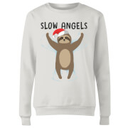Slow Angels Women's Sweatshirt - White
