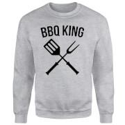 BBQ King Sweatshirt - Grey
