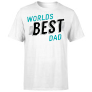 Camiseta  World's Best Dad  - Hombre - Blanco - M - Blanco