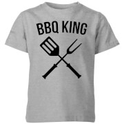 BBQ King Kids' T-Shirt - Grey