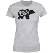 Baby Bear Women's T-Shirt - Grey