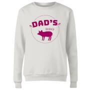 Dads BBQ Women's Sweatshirt - White