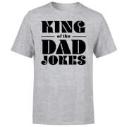 King of the Dad Jokes T-Shirt - Grey