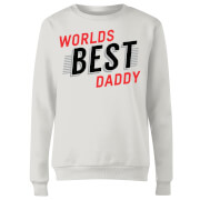 Click to view product details and reviews for Worlds Best Daddy Womens Sweatshirt White L White.