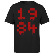 1984 Gaming T-Shirt - Black - L - Black