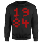 1984 Gaming Sweatshirt - Black - XL - Black
