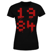 1984 Gaming Women's T-Shirt - Black - S - Black