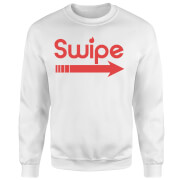 Swipe Right Sweatshirt - White