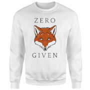 Zero Fox Given Sweatshirt - White
