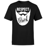 Respect the Beard T-Shirt - Black
