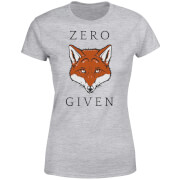 Zero Fox Given Women's T-Shirt - Grey