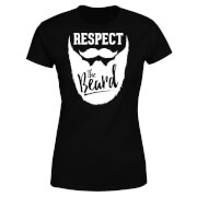 Respect the Beard Women's T-Shirt - Black