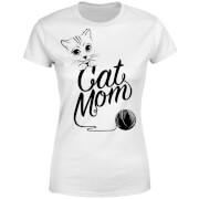 Cat Mom Women's T-Shirt - White