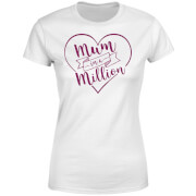 Mum in a Million Women's T-Shirt - White - L - White