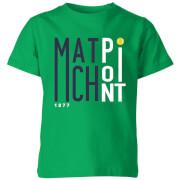 Match Point Kids' T-Shirt - Kelly Green