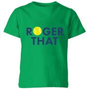 Roger That Kids' T-Shirt - Kelly Green