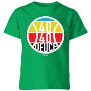 40 40 Deuce Kids' T-Shirt - Kelly Green - 7-8 Years - Kelly Green