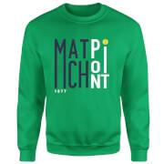 Match Point Sweatshirt - Kelly Green