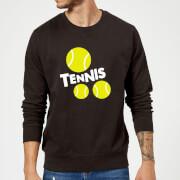 Tennis Balls Sweatshirt   Black   XL   Black