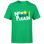 New Balls Please T-Shirt - Kelly Green