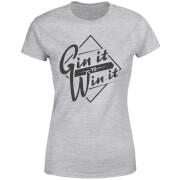 Gin it to Win it Women's T-Shirt - Grey