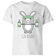 Gin Bunny Kids' T-Shirt - White