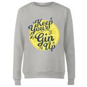 Keep Your Gin Up Women's Sweatshirt - Grey
