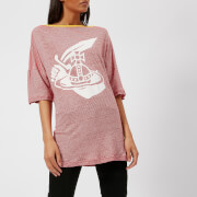 Vivienne Westwood Anglomania Women's Middling T-Shirt Arm and Cutlass Print - Red