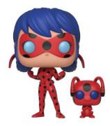 Figura Pop! Vinyl Ladybug y Tikki - Miraculous: Las aventuras de Ladybug
