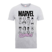 Marvel Comics Multi-Faces Männer T-Shirt - Grau
