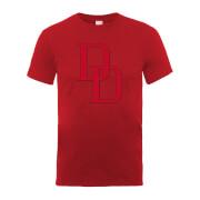 T-Shirt Homme Logo Daredevil - Marvel Comics - Red