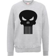 Sweat Homme Skull Badge - The Punisher Marvel - Gris