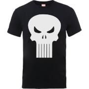 Marvel The Punisher Skull Logo Heren T-shirt - Zwart