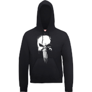 Marvel The Punisher Paintspray Männer Pullover - Schwarz