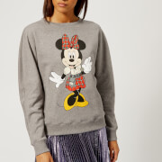 Christopher Kane Women's Minnie Sweatshirt - Grey Melange - L - Grey