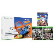 Xbox One S 1TB Forza Horizon 3 Hot Wheels Bundle with Call of Duty: WWII, Gears of War 4 and The LEGO Movie 4K