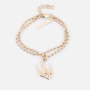 McQ Alexander McQueen Women's Swallow Bracelet - Gold