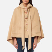 See By Chloé Women's Desert Cape Coat - Barely Brown - M-L - Brown