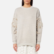See By Chloé Women's Crafty Fleece Top - Drizzle Grey - S - Grey