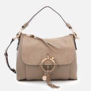 See By Chloé Women's Small Joan Shoulder Bag - Motty Grey